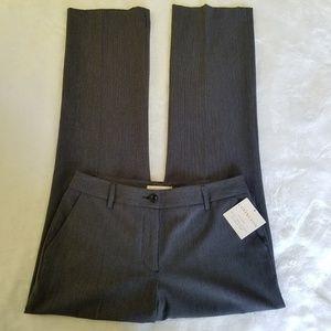 Covington Charcoal Stripe Career Pants